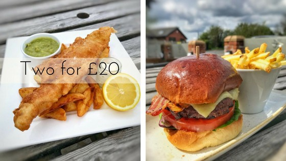 Fish/Burger offer