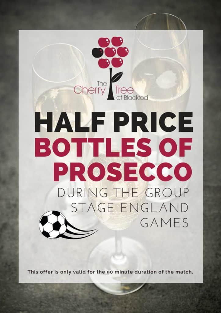 Half price prosecco