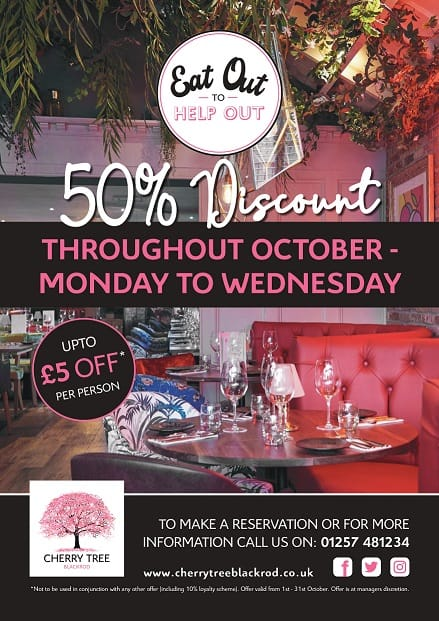 Eat out to help out October